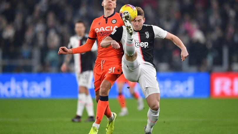 Coppa Italia Juve-Udinese 4-0, il tabellino