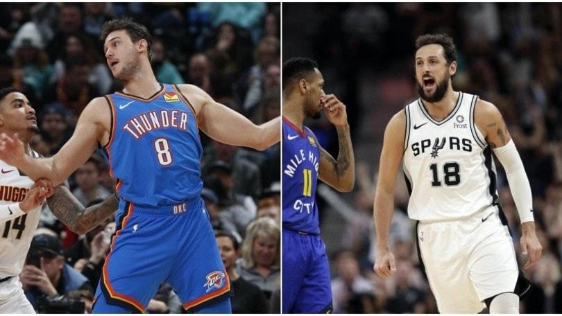 Nba, Gallinari non basta ai Thunder. Gli Spurs di Belinelli vanno ko contro Miami