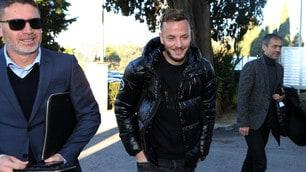 Rrahmani a Villa Stuart per le visite col Napoli