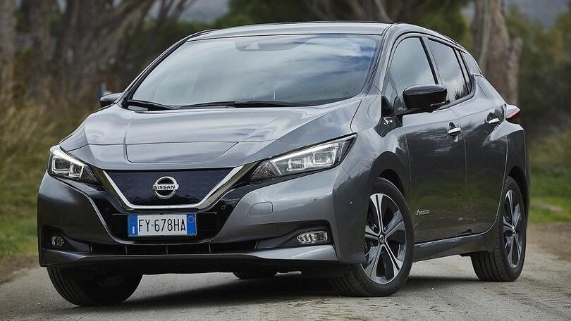 Nissan Leaf e+, viaggi senza timori