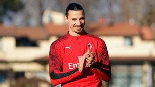 Milan, Ibrahimovic è soddisfatto: applauso ai compagni