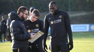 Inter, vietato rallentare: test fisici, Lukaku se la ride