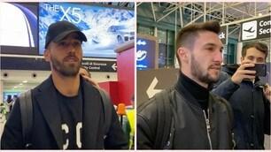 Politano torna a Milano, Spinazzola a Roma: ecco i giocatori all'aeroporto