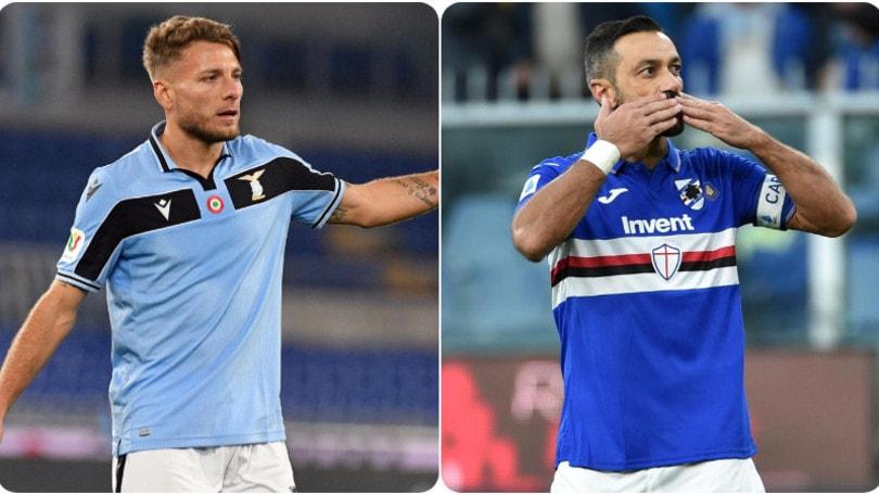 Diretta Lazio-Sampdoria ore 15: dove vederla in tv e formazioni ufficiali