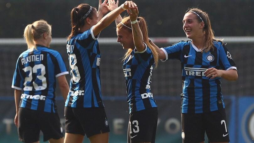 La Roma in trasferta a Milano, vincono Inter, Sassuolo e Tavagnacco