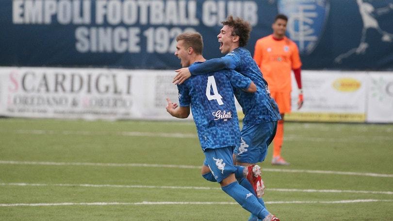Primavera, l'Empoli vince a fatica: 3-2 al Chievo