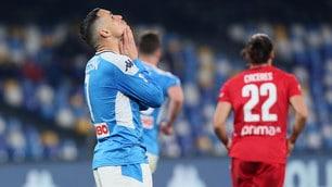 Napoli ko tra i fischi del San Paolo: festa Fiorentina