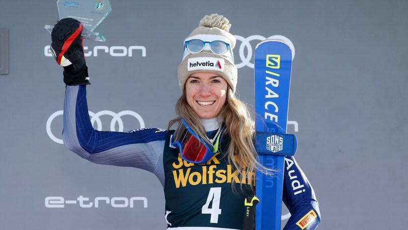Bassino terza nello slalom gigante parallelo di Sestriere. Quarta la Brignone