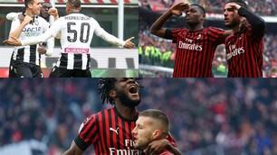 Il Milan allo scadere vince con l'Udinese. Rebic show a San Siro