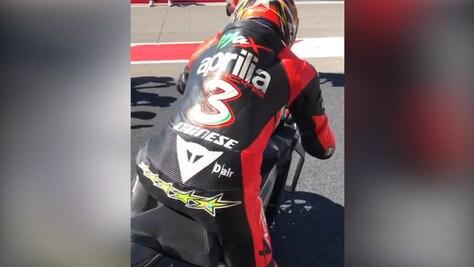 MotoGp, Aprilia: niente test per Biaggi