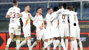 Roma, sacrificio e classe: 3-1 al Genoa con Spinazzola protagonista