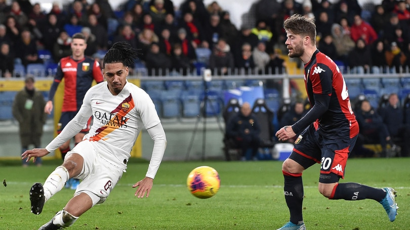 Genoa-Roma 1-3, il tabellino