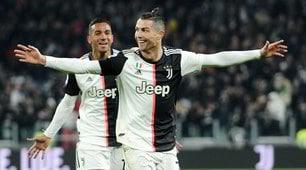 Ronaldo, che doppietta! La Juve batte un bel Parma
