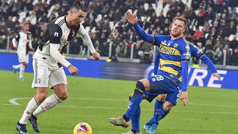Juventus-Parma 2-1, il tabellino