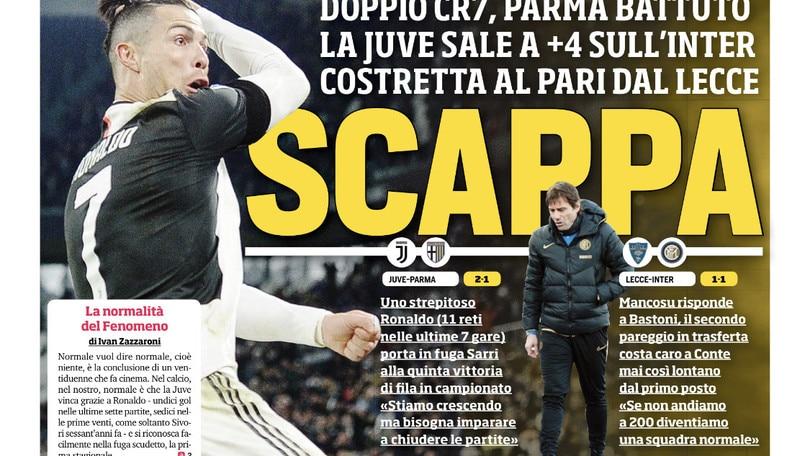 """""""Scappa"""". Torna la Coppa Italia"""