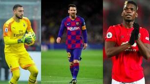 Da Messi a Pogba: tutti i campioni che si svincoleranno nel 2021!