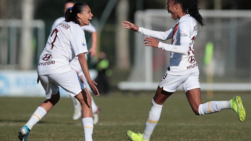 La Roma si butta via: da 0-2 a 3-2, vince il Milan al Vismara