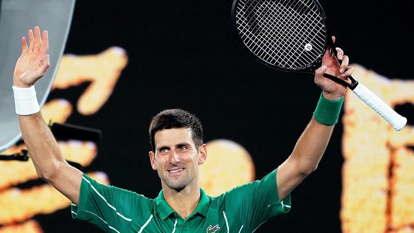 Djokovic al secondo turno degli Australian Open