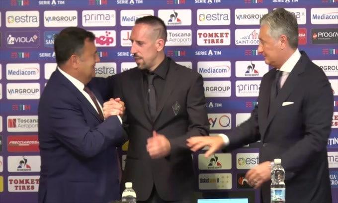 Fiorentina, Ribery non giocherà per 45 giorni