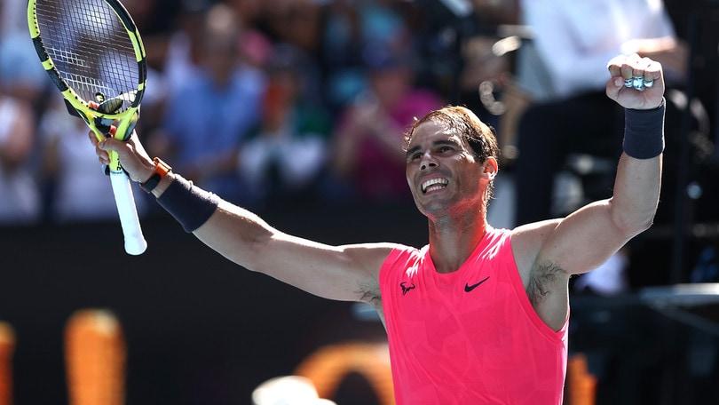 Australian Open, tutto facile per Nadal: battuto Dellien 3-0