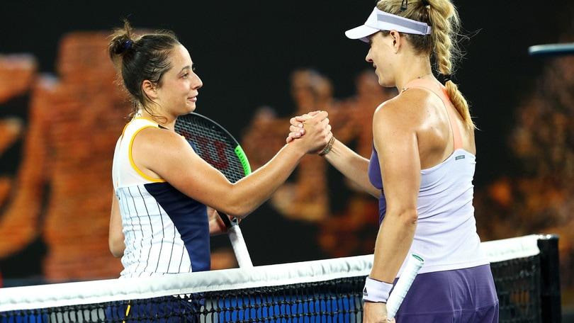 La Cocciaretto saluta gli Australian Open: passa la Kerber