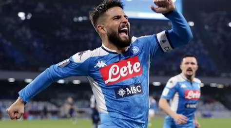 Napoli-Lazio 1-0: Insigne porta Gattuso in semifinale