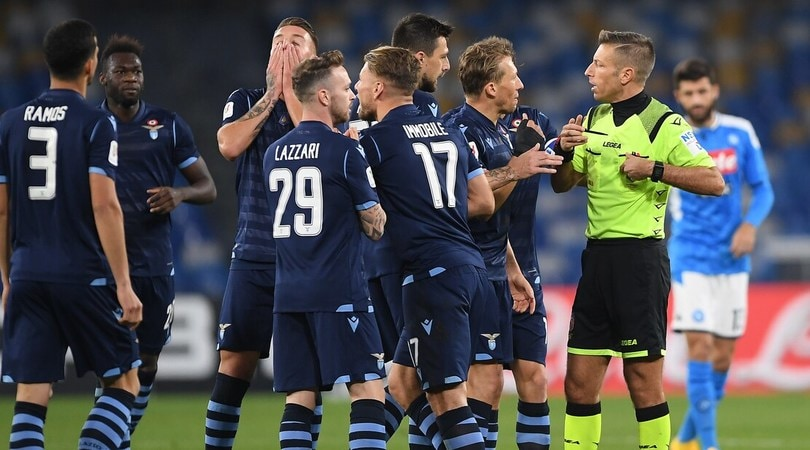 Napoli-Lazio, Massa disastro doppio: sbaglia tutto, crisi aperta