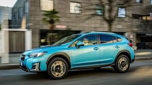 Subaru XV e-boxer: immagini del Suv ibrido