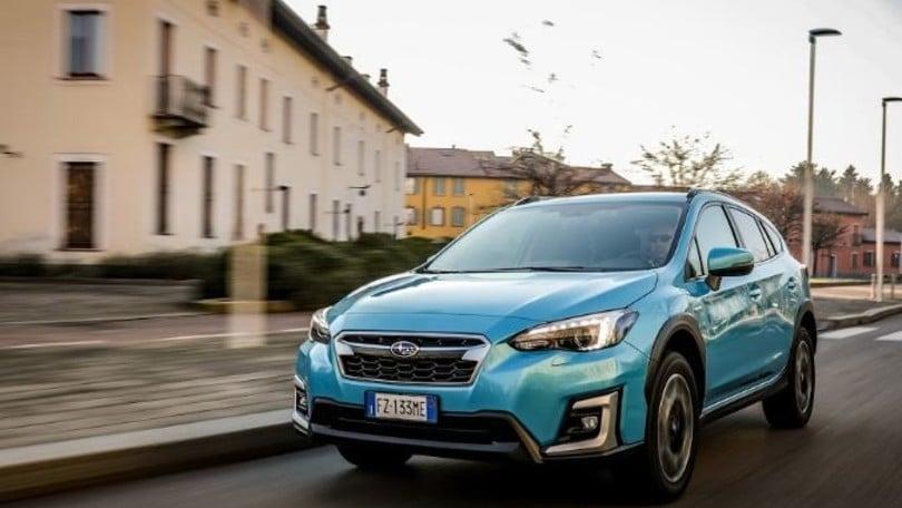 Subaru XV e-boxer, la prova su strada