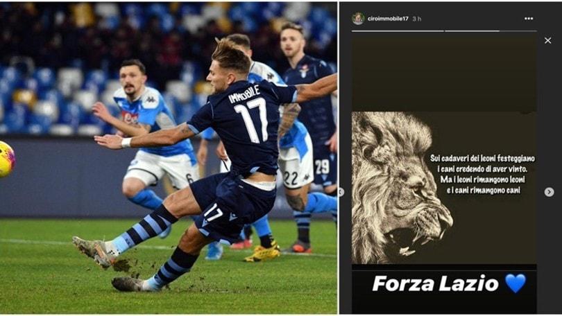 """Immobile: """"Sui cadaveri dei leoni festeggiano i cani"""""""