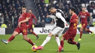 Coppa Italia, troppa Juve per la Roma: Ronaldo ancora in gol
