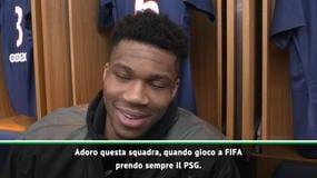 """Antetokounmpo: """"Prendo sempre il PSG a FIFA, e adoro Ibra..."""""""