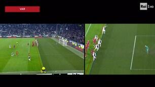 Juve-Roma, la sequenza del terzo gol di Bonucci