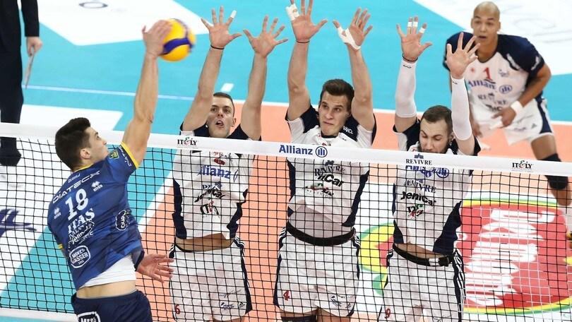Coppa Italia: la quarta semifinalista è Trento