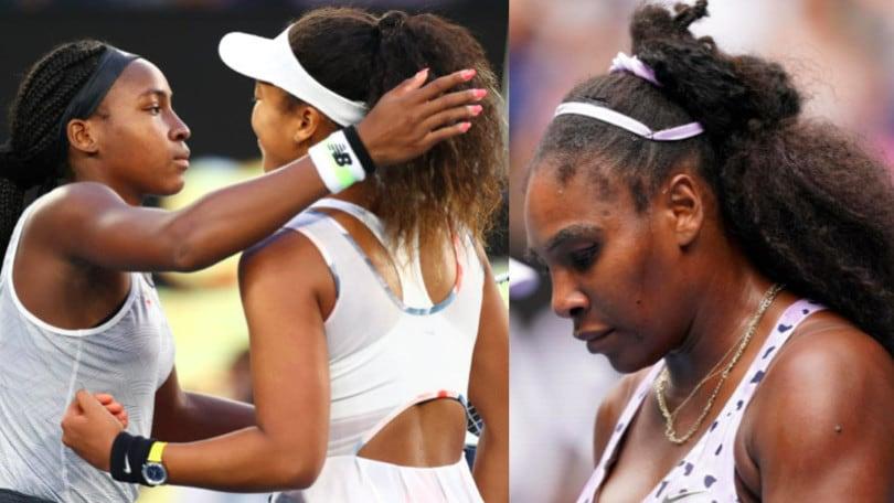 Australian Open, quante sorprese: fuori Serena Williams, Gauff stende Osaka