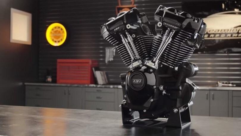 Harley-Davidson, il nuovo mastodontico motore Screamin' Eagle