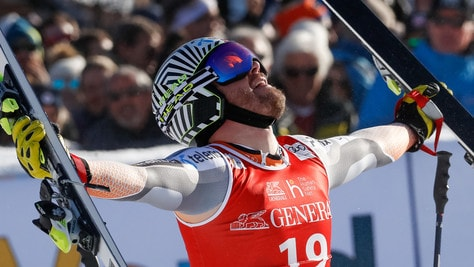 Kitzbuehel, Jansrud vince superG: ottimo quinto posto per Casse