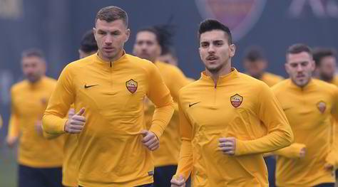 Derby, Dzeko e Pellegrini in testa al gruppo: pronti a trascinare la Roma