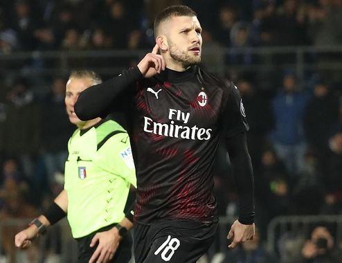 Brescia-Milan 0-1: ancora Rebic, Pioli da Europa