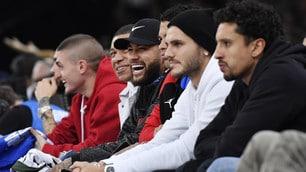 Icardi, Mbappé e Neymar: tutto il Psg per l'Nba a Parigi