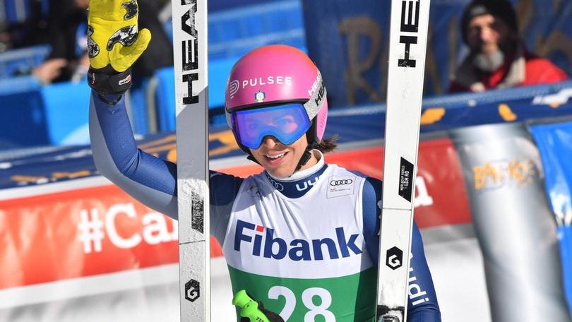 Tripletta azzurra a Bansko: Elena Curtoni vince davanti a Bassino e Brignone