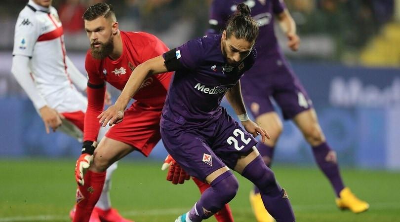 Fiorentina-Genoa 0-0: Dragowski super, para un rigore a Criscito