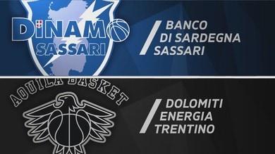 Banco di Sardegna Sassari - Dolomiti Energia Trentino 87-90
