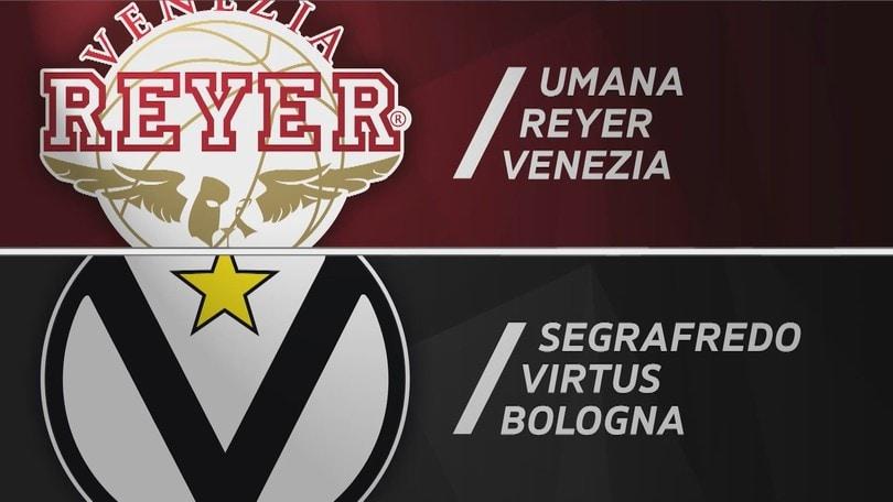 Umana Reyer Venezia - Segafredo Virtus Bologna 71-83