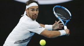 Fognini fuori agli ottavi degli Australian Open, furia contro l'arbitro
