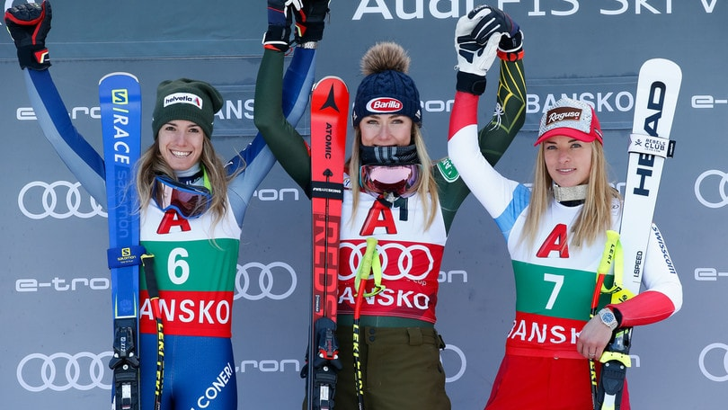 Bassino seconda in SuperG a Bansko: vince la Shiffrin