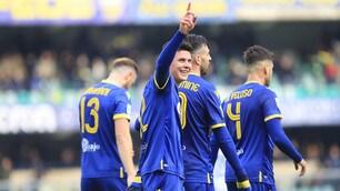 Il Verona strapazza il Lecce 3-0: a segno anche Pazzini
