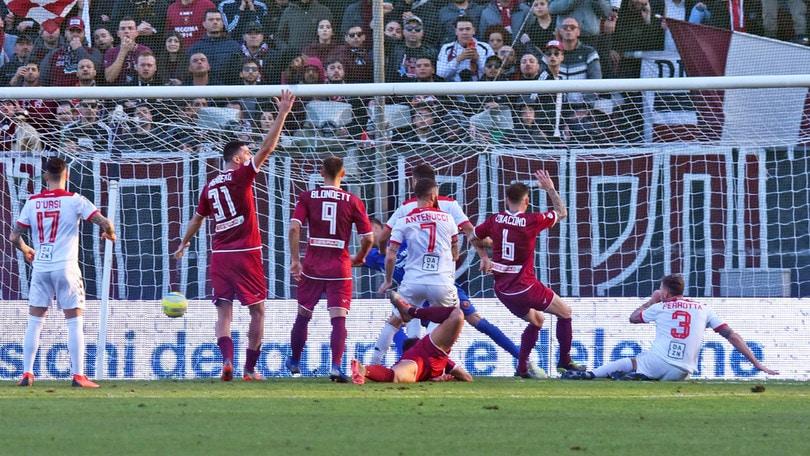 Reggina-Bari 1-1: Perrotta risponde a Denis. Pari Ternana, Catania ko