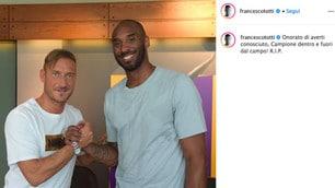 Morte Kobe Bryant, dal Milan a Belinelli: le reazioni sui social network