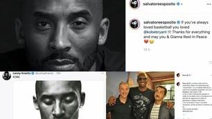 Da Dj Linus a Salvatore Esposito: i vip ricordano Kobe Bryant  FOTO